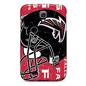 Tpu GeorgeLife Shockproof Scratcheproof Atlanta Falcons Hard Case Cover For Galaxy S4