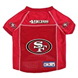 NFL San Francisco 49ers Pet Jersey, Small