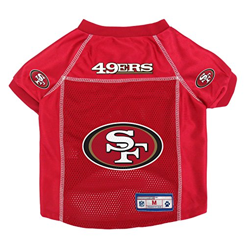 NFL San Francisco 49ers Pet Jersey, - Dog Tag 49ers