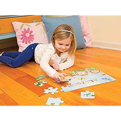 Jigsaw Puzzles for Kids Ages 3-5 Year Old 24 Piece, Toddler Children Learning Educational Toys for Boys and Girls, Flowers and Butterflies: Toys & Games