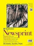 Strathmore 307-824 Newsprint Pads, 24 X 36 In., 50 Sheet