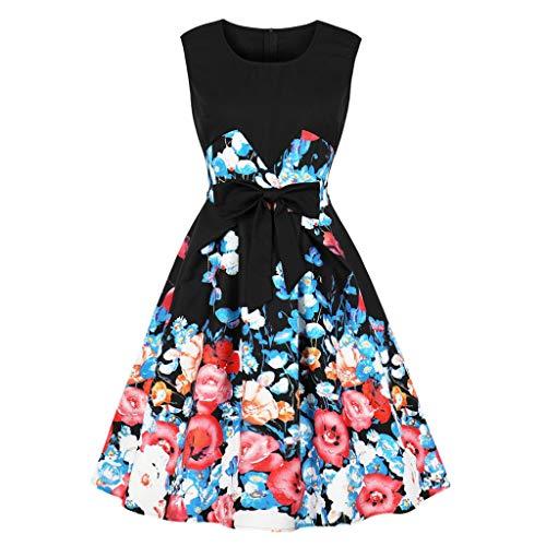 HYIRI 2019 New Vintage Retro Evening Party Dress,Women's