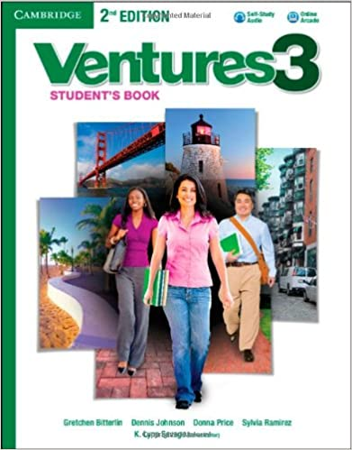 Ventures Level 3 Students Book with Audio CD