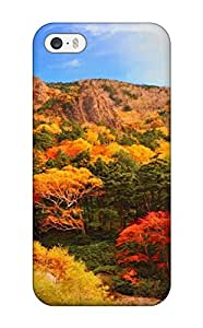 Fashionable Style Case Cover Skin For Iphone 5/5s- Autumn Earth Nature Autumn