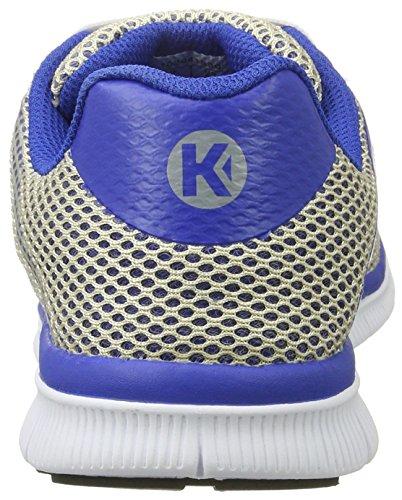 Kempa K-float - Zapatillas Hombre Gris (Gris Argent/bleu Roi)