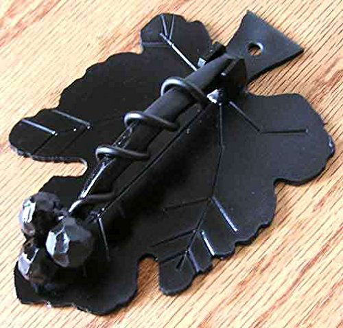 Agave Ironworks Grapevine Knocker Flat Black by Agave Ironworks