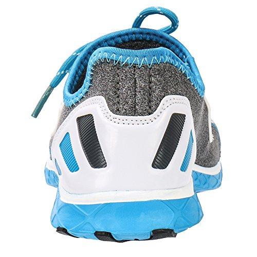 ALEADER Frauen Mesh Slip On Water Schuhe 9926 Blau