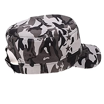 Baoblaze Unisex Baseball Military Army Cap Camouflage Snapback Outdoor Camping Hat from Baoblaze
