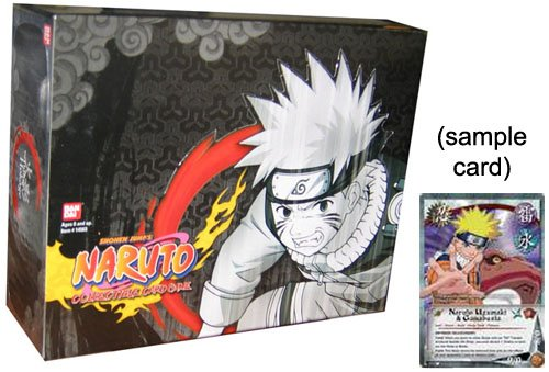 Naruto Collectible Trading Card Game The Path to Hokage Unlimited Edition Booster Box (24 Packs) B000HTEM80
