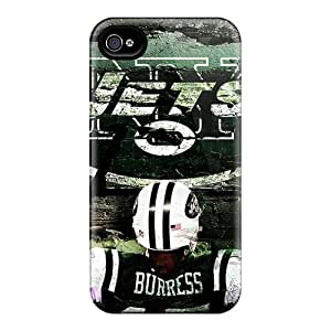 Bumper Hard Cell-phone Case For Iphone 6plus (bXw11812RZUH) Custom High-definition New York Jets Series