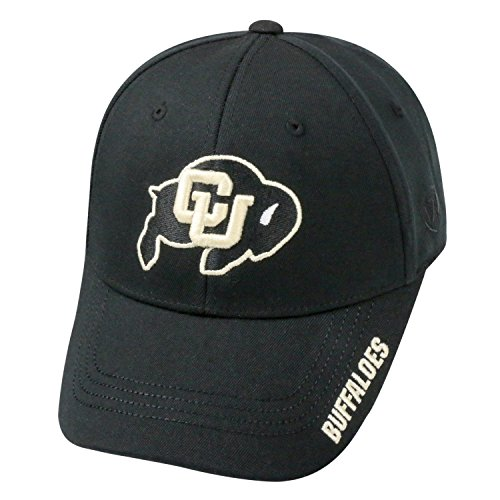 Top of the World NCAA-Premium Collection-One-Fit-Memory Fit-Hat Cap-Colorado Buffaloes (Baseball Buffaloes Colorado)