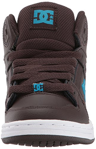 DC Shoes Youth Rebound Skate Shoe, Brown, 1.5 M US Little Kid by DC (Image #4)