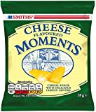 Smiths Cheese Flavoured Moments Cereal Snacks with Cheesey Center 28 g (Pack of 24)