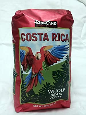 Kirkland Signature Costa Rica Whole Bean Coffee 2 lb.