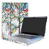 Alapmk Protective Case Cover For 15.6' Lenovo Yoga 730 15 730-15IKB 730-15IWL & Yoga Chromebook C630 Laptop(Warning:Not fit Yoga 730 13/Yoga 720/Yoga 710/Yoga 700 Series),Love Tree