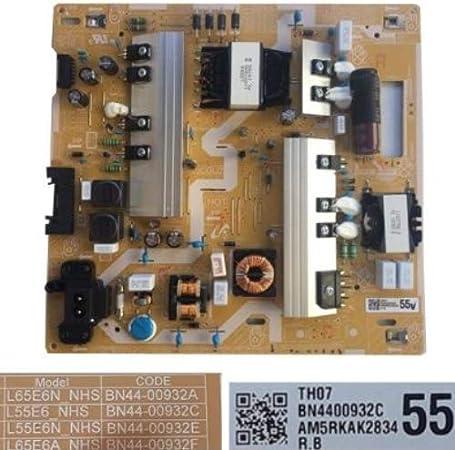 Fuente Alimentación Samsung BN44-00932A, L65E6N_NHS, Rev. 1.1, Samsung UE55NU7026K: Amazon.es: Electrónica