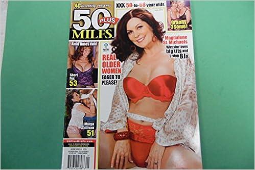 50 Plus Milfs Mens Magazine Magdalene June 2012 50 Plus Amazon Com Books
