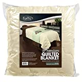 Product review for For Pro Premium Quilted Blanket Natural Massage Linen