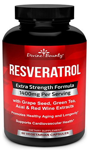 Resveratrol-Supplement-1400mg-Extra-Strength-Formula-with-Grape-Seed-Extract-Green-Tea-Extract-Red-Wine-Extract-60-veggie-capsules-Made-in-USA