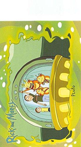 - 2018 Cryptozoic Rick and Morty Season 1 Trading Cards #34 Pluto