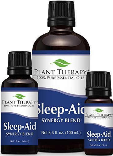 Plant Therapy Sleep Aid Synergy Essential Oil 100% Pure, Undiluted, Therapeutic Grade
