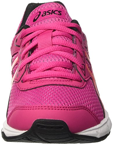 Asics Gel-Galaxy 9 Gs, Zapatillas Unisex Niños Rosa (Sport Pink/Flash Coral/Black)