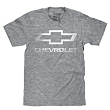 Chevrolet Logo T-Shirt by Tee Luv | Big & Tall Soft Touch Tee