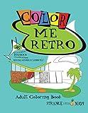Strange Little Onion's Color Me Retro: 36 Mid Century Modern Adult Coloring Pages