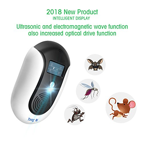 TangN Pest Repellent,Ultrasonic Pest Control Mouse Plug in,Indoor Outdoor Electronic Control Rodent,Mosquito,Insect,Roach,Spider,Ant,Rat And Flea,Safe Control NO Chemicals Ultrasonic Pest Repeller. by TangN (Image #3)