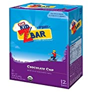 Clif Kid ZBar Organic Chocolate Chip Whole Grain Energy Snack - 1.27 OZ - 12 Count