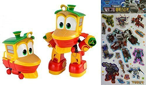 """Animation Characters """"Duck"""" Toy, Kids, Child, Korean Animation """"Robot Train""""Transformer Train Robot character"""