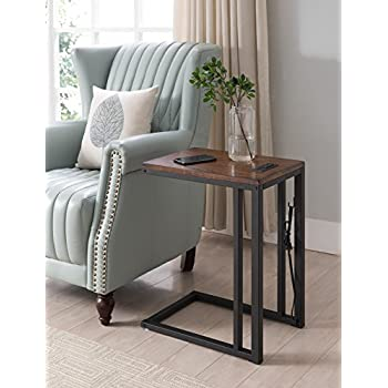 Amazon Com One Source Living Soho C Table With Charging