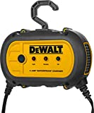 DEWALT DXAEWPC4 Professional 4 Amp Waterproof Automatic Battery Charger/Maintainer