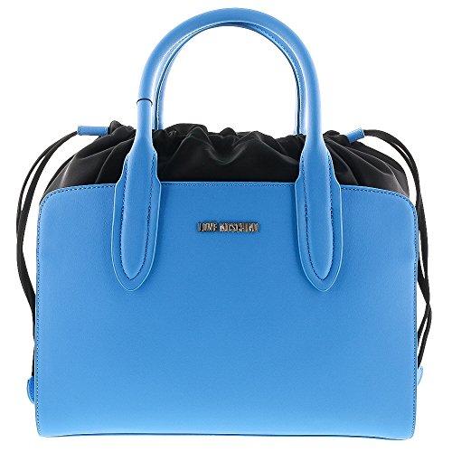 Moschino Love Borsa Pu Blue Chiaro
