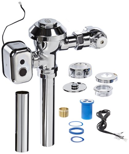 UPC 670240490857, Zurn ZEMS6003-EWS.0001 0.5 gpf Aquaflush Hard wired ZEMS Flush Valve w/Integral Sensor