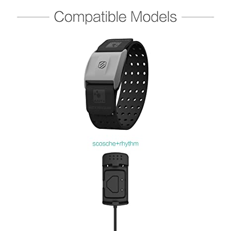 Plus USB Charging Cable 100cm Heart Rate Monitor Accessories TUSITA Charger for Scosche Rhythm