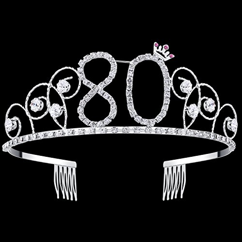 80th Birthday Tiara
