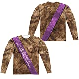 Mud Wrestling Champ Unisex Adult Long-Sleeve Sublimated T Shirt for Men and Women