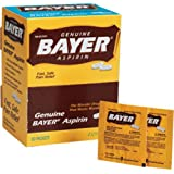 Genuine Bayer Aspirin 50/2s - 50 packets of 2