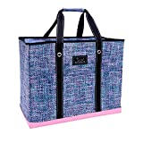 SCOUT 3 Girls Bag, Extra Large Water Resistant, Tote Bag, For the Beach, Pool and Everyday Use, Zips Closed, Tweedy Bird