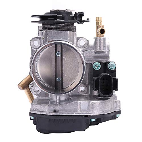 ECCPP Electric Throttle Body Air Control Assembly Fit 1999-2001 Volkswagen Beetle /1999-2001 Volkswagen Golf /1999-2001 Volkswagen Jetta OE 06A133064H, 06A 133 064H