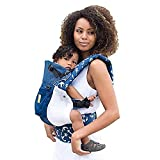 LÍLLÉbaby The COMPLETE Airflow SIX-Position 360° Ergonomic Baby & Child Carrier, Blue with Anchors - Cotton Baby Carrier, Ergonomic Multi-Position Carrying for Infants Babies Toddlers