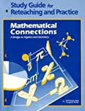 Study Guide for Reteaching and Practice Mathematical Connections, MCDOUGAL LITTEL, 0395585589