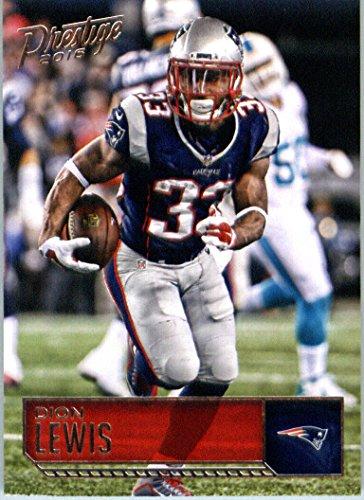 2016 Panini Prestige  118 Dion Lewis New England Patriots Football Card Mint