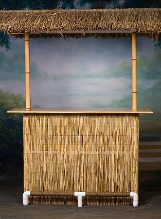 Amazon.com: Portable Tiki Bar – Home Edition con el falda ...