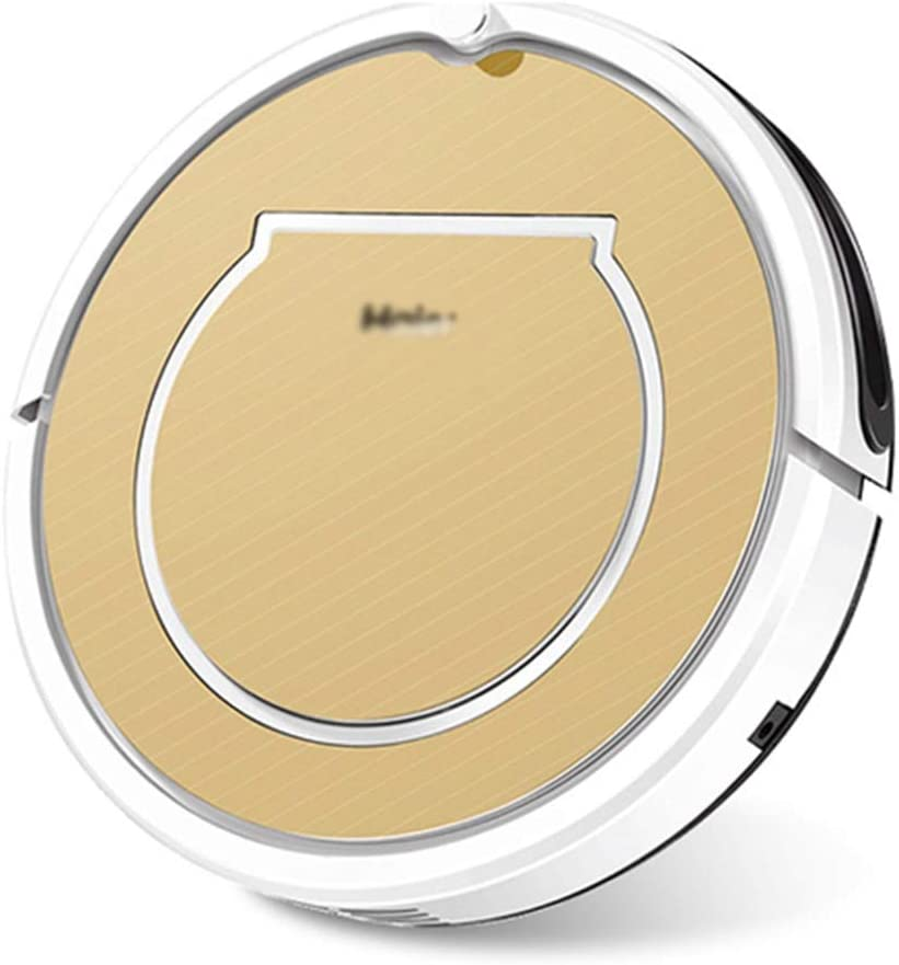 Sweeping Robot Home Mute Vacuum Cleaner Vacuum Robot Office Smart Vacuum Cleaner Integrated Scrub Vacuum Cleaner (Color : Gold, Size : 33 * 33 * 7.5cm)