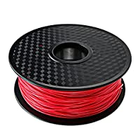 TIANSE Red PLA 3D Printer Filament, 1 kg Spool, 1.75 mm, Dimensional Accuracy +/- 0.03 mm by TIANSE