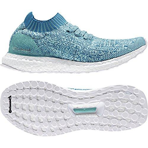 Chaussures Ultraboost Bleu petmis De Adidas Femme blanc aquene Uncaged ftwbla W Multicolore Running qd188Ztgnw