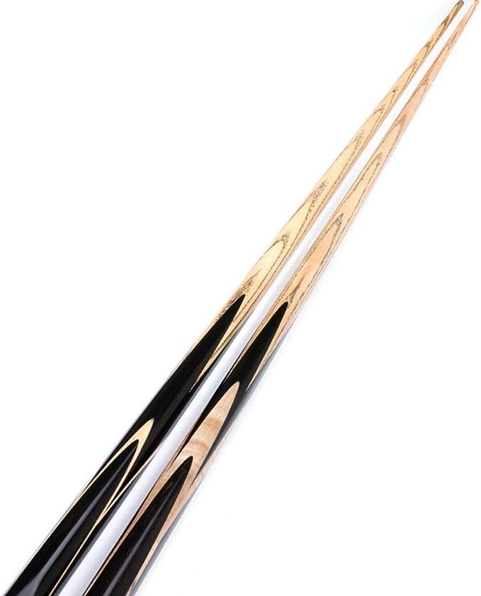 Bolas de billar Taco De Billar Taco De Snooker De Ceniza Pequeña Taco De Billar Negro Ocho Principiante (Color : Natural, Size : 145cm): Amazon.es: Deportes y aire libre