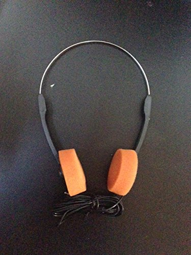 Star Lord Costume Headphones (Guardians of the Galaxy Style Headphones - Orange Earpieces! Star Lord)